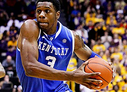 Terrence Jones, who at one point goes on his own 13-0 run, carries the Wildcats with 27 points. (US Presswire)