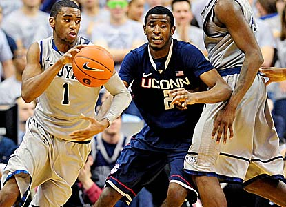 Hollis Thompson and the Hoyas bounce back from a loss at Pitt, holding UConn to a season low in points (44). (US Presswire)