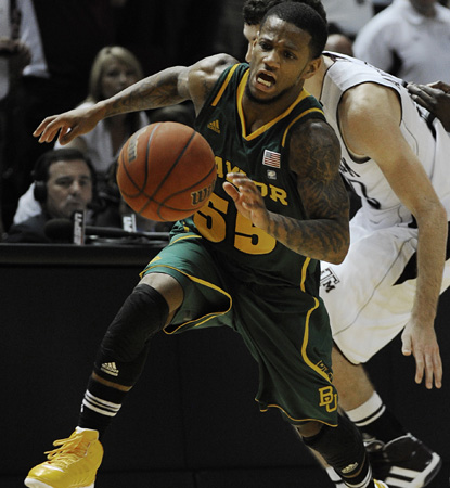 Pierre Jackson is Mister Clutch for Baylor, draining the go-ahead trey to put the Bears up for good vs. Texas A&M. (AP)