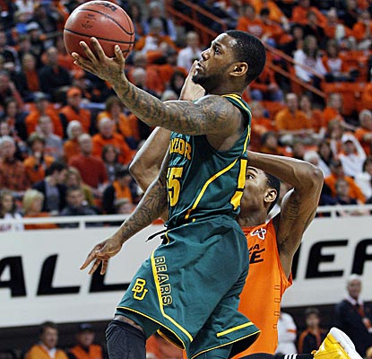 Baylor's Pierre Jackson ties for the team lead with 16 points as the Bears' starters score all but seven points.  (AP)