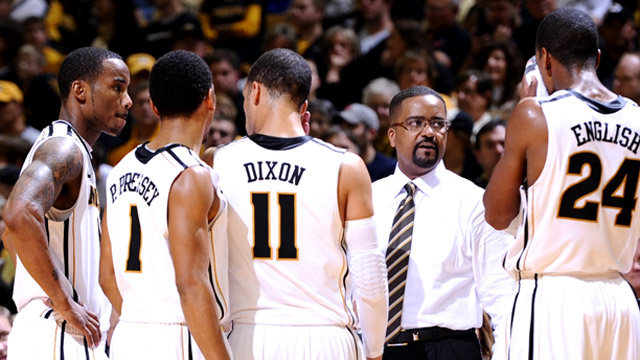 Frank Haith's Tigers are in a three-way tie for first place with Kansas and Baylor in the Big 12. (US Presswire)