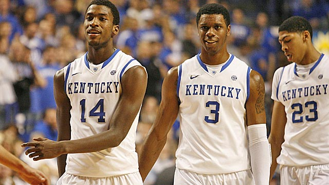 Coming soon to an NBA arena: Michael Kidd-Gilchrist, Terrence Jones and Anthony Davis. (US Presswire)