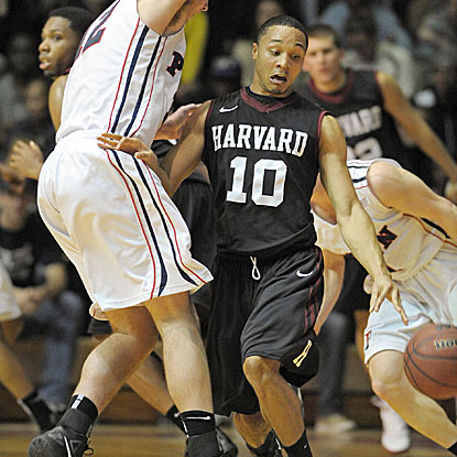 Brandyn Curry and the Crimson improve to 7-0 in conference play with their win over Penn.  (US Presswire)