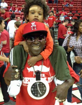 'It feels good for them to be back,' rapper Flavor Flav says about the rejuvenated Rebels.