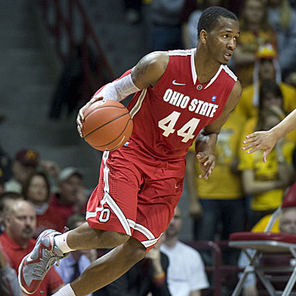 William Buford scores a game-high 24 points to lead Ohio State past Minnesota and move into first place in the Big Ten.  (US Presswire)