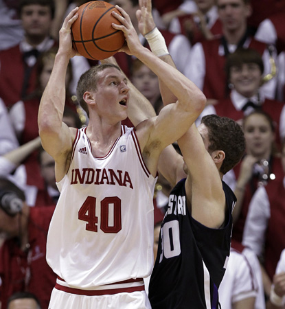 Hoosier Cody Zeller scores 23 points and adds seven boards to help Indiana edge Northwestern. (AP)