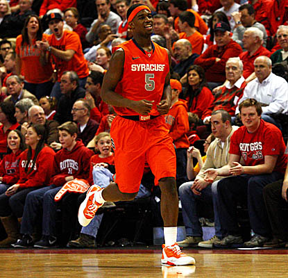 C.J. Fair comes off the Orange bench to score a career-high 21 points in 'Cuse's road win. (Getty Images)