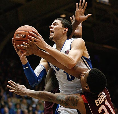 Austin Rivers and the Blue Devils overcome a rough day of shooting to hold off the Hokies. (US Presswire)