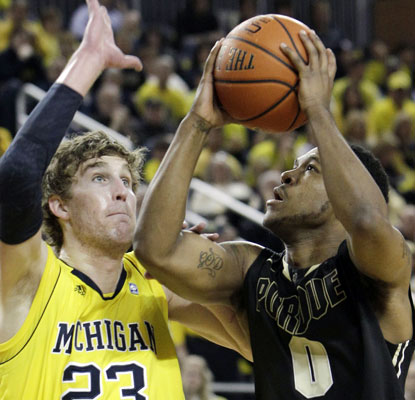 Terone Johnson drops 22 points to help the Boilermakers to their fourth win in their past five games.  (AP)