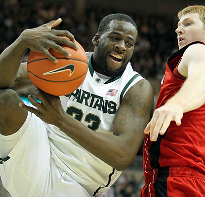 Draymond Green and the Spartans wrap up another win, with the Cornhuskers being their latest victims. (US Presswire)
