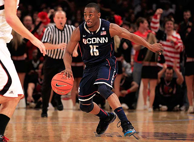 Kemba Walker led UConn to a near-mythic five wins in five days at the '11 Big East tourney. (Getty Images)