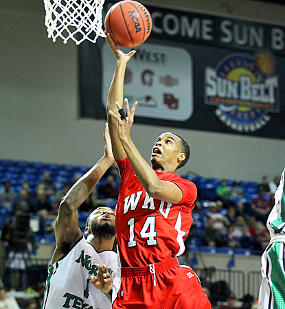 Jamal Cook drives for a bucket as the Hilltoppers earn a trip to the NCAA tournament for the first time since 2009. (US Presswire)