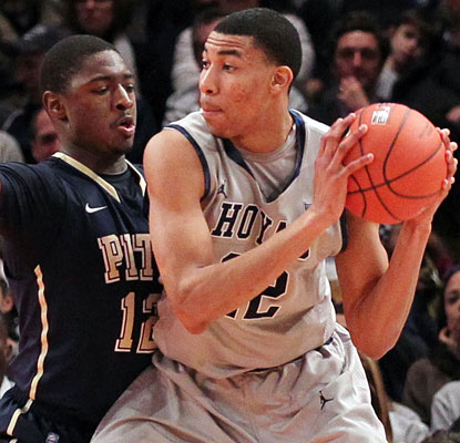 Otto Porter posts a career-high 20 points on 7-of-11 shooting to help Georgetown eliminate Pitt.  (US Presswire)