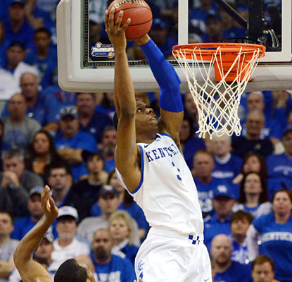 Terrance Jones goes on a 9-0 run all by himself to help No. 1 Kentucky overtake LSU in the second half.  (US Presswire)