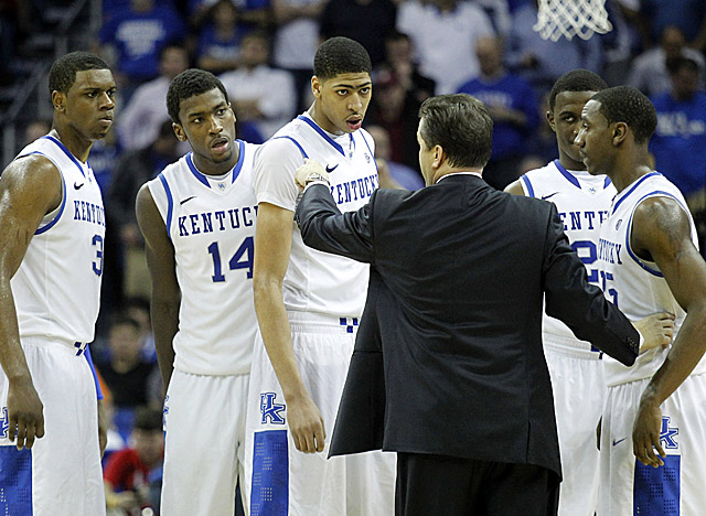John Calipari has a third all-star Wildcats roster since taking over at Kentucky in 2009. (US Presswire)