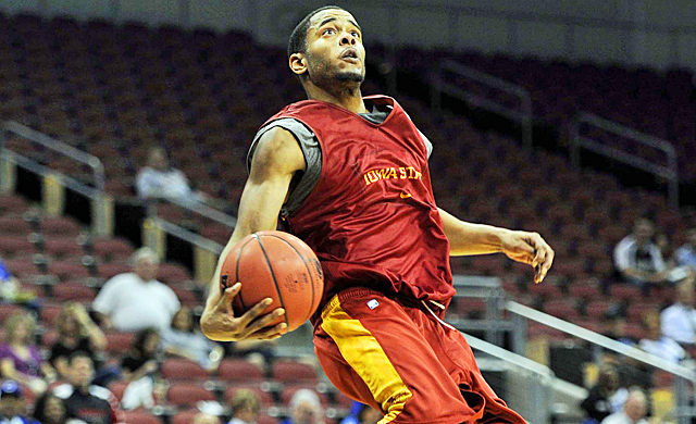 Chris Allen played in three NCAA tourneys at Michigan State before transferring to Iowa State. (US Presswire)