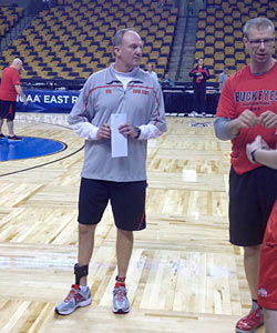 Matta, barely able to walk, isn't in the business of feeling sorry for himself. (Provided by Jeff Goodman)