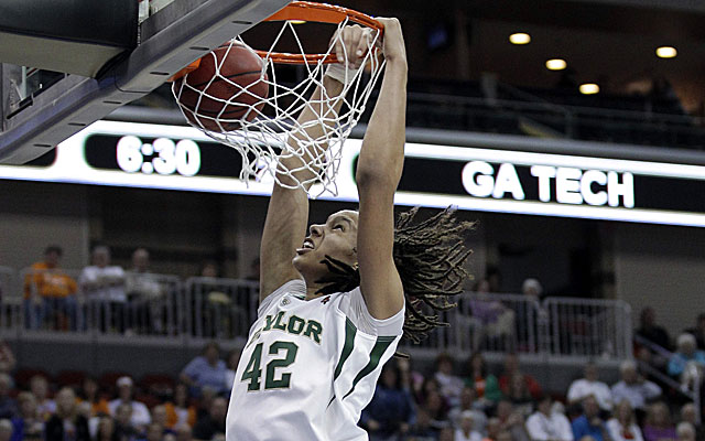 Brittney Griner dunks during the second half against Georgia Tech on Saturday. (US Presswire)