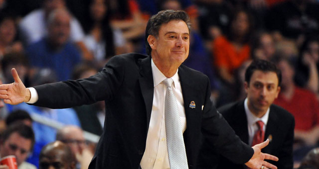'It was obviously difficult,' Pitino says about the Karen Sypher controversy. (US Presswire)