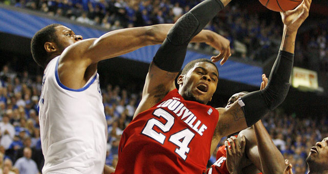Kentucky beat Louisville on Dec. 31, 2011 in Lexington. (US Presswire)