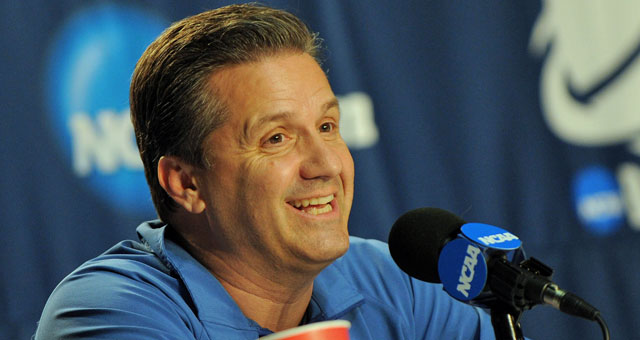 'I think it's more John than Rick,' one coach says of the Pitino-Calipari feud. (US Presswire)