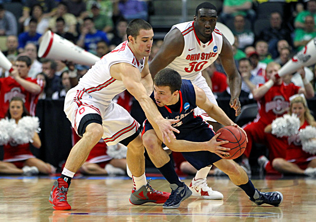 Aaron Craft sets the tone for Ohio State on the defensive end. (Getty Images)