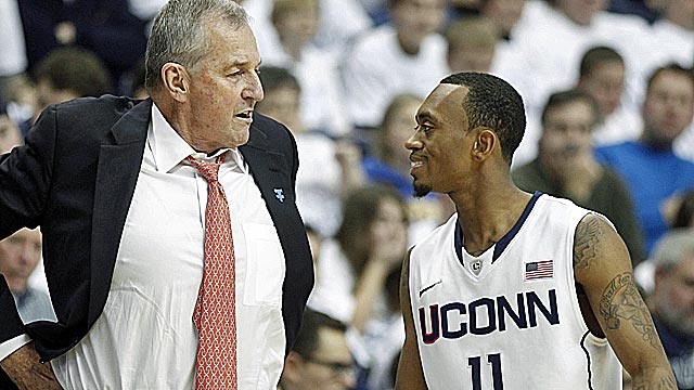 Along with Shabazz Napier, Jim Calhoun will lean heavily on Ryan Boatright next year. (US Presswire)