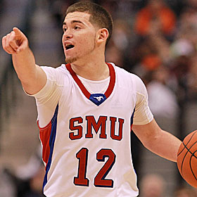 Jeremiah Samarrippas was an SMU guard and team captain. Key word: Was. (Getty Images)