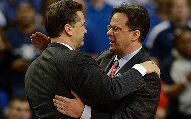 John Calipari and Tom Crean agree to end one of the best rivalries in the country. (US Presswire)