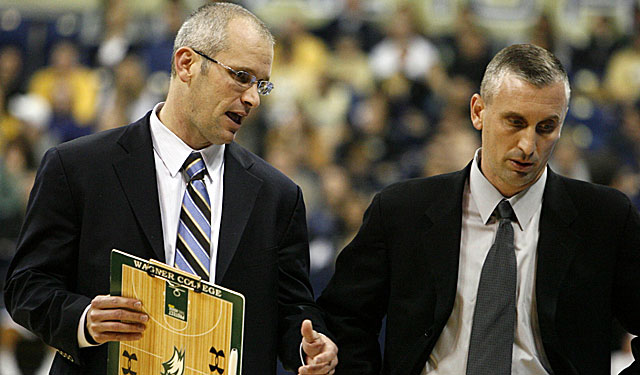 Dan Hurley (left) and brother Bobby are headed to Rhode Island. (US Presswire)