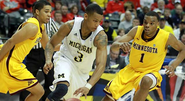 Trey Burke's return to Ann Arbor makes Michigan a Final Four contender. (Getty Images)