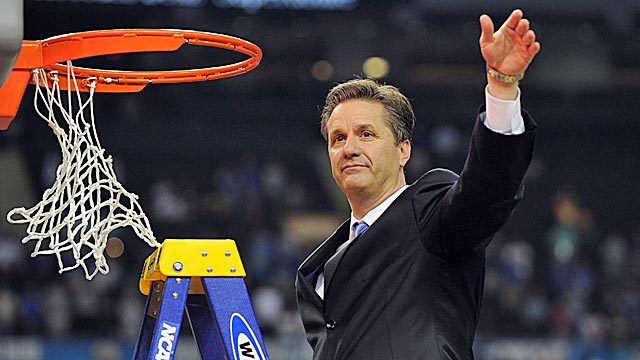 The Calipari Way: Kentucky's coach is playing  on a whole different level. (US Presswire)