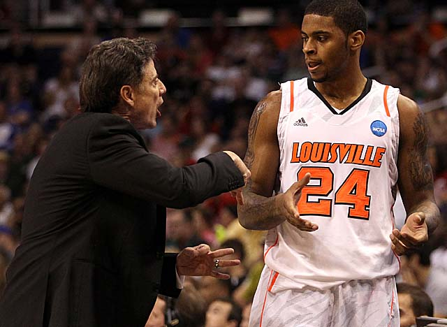 Among the impact players returning for Pitino is power forward Chane Behanan. (Getty Images)
