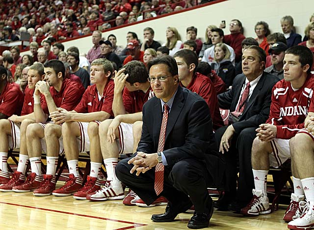 Tom Crean led his Indiana Hoosiers to a 27-9 record and a Sweet 16 berth in 2011-12. (Getty Images)