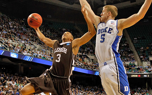 After C.J. McCollum led Lehigh past Mason Plumlee and Duke, both players return for 2012-13. (Getty Images)