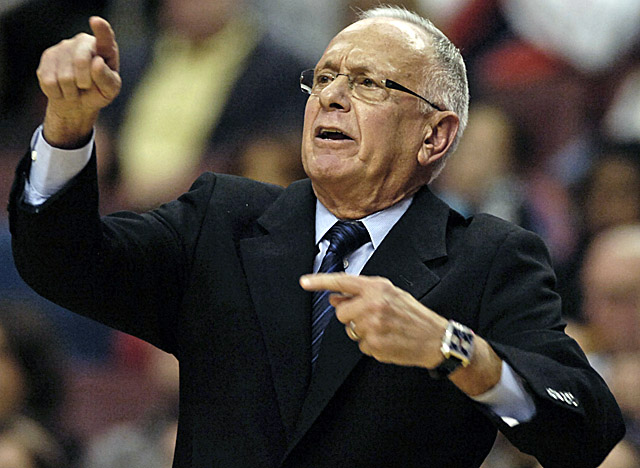 New SMU coach Larry Brown, who's 71, may be looking at a lot of late nights this month. (US Presswire)