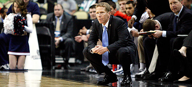 Due to injury, Mark Few's playing career did not advance beyond the high school level. (Getty Images)