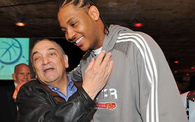 Vaccaro was a Godfather figure when Carmelo Anthony was starring on the summer circuit. (Getty Images)