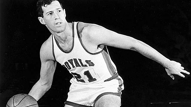 Art Heyman, a Cincinnati Royal in 1970, played eight seasons in the NBA and ABA. (Getty Images)