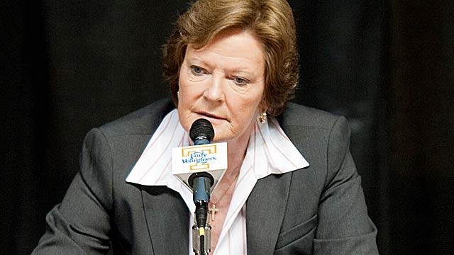 Pat Summitt's affidavit is being used as part of a lawsuit by another ex-Vols employee. (US Presswire)