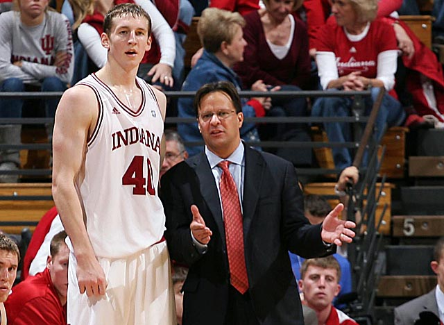 After two years of missing on big recruits, Crean landed Zeller in the Hoosiers' backyard. (US Presswire)