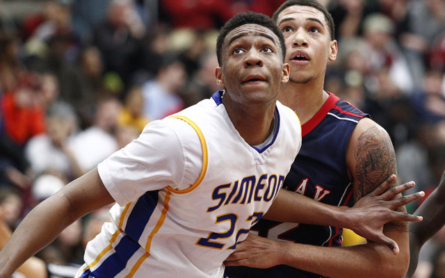Jabari Parker is scheduled to make five official visits. (US Presswire)
