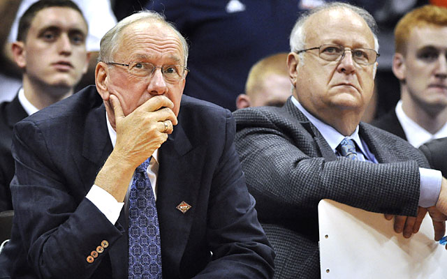 After the accusations came to light, Jim Boeheim fiercely defended Bernie Fine, his assistant of 35 years. (AP)