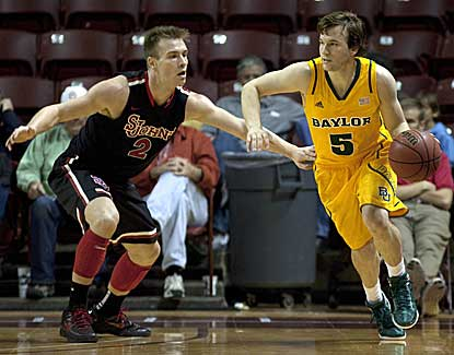 Brady Heslip scores a career-high 29 points to lead Baylor past St. John's on Sunday. (US Presswire)