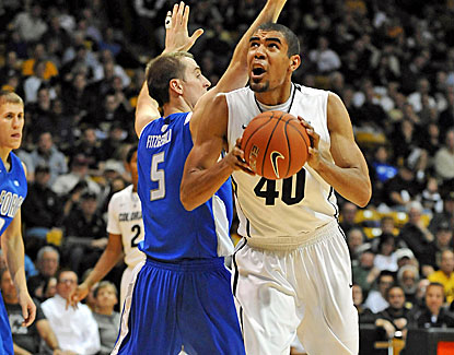 Freshman Josh Scott scores 20 points, including 13 in the second half, as Colorado closed out Air Force. (US Presswire)