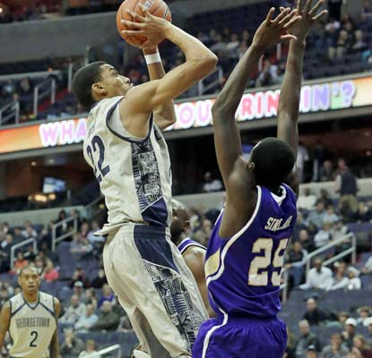 Otto Porter scores 15 points for the Hoyas, who have won six straight to improve to 9-1.  (AP)