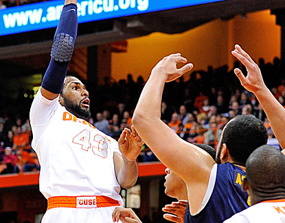 Syracuse's James Southerland breaks out of a mini-slump with 21 points against Canisius. (US Presswire)