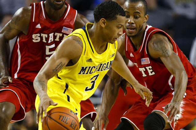 Michigan's Trey Burke moved up in our Player of the Year race. (US Presswire)