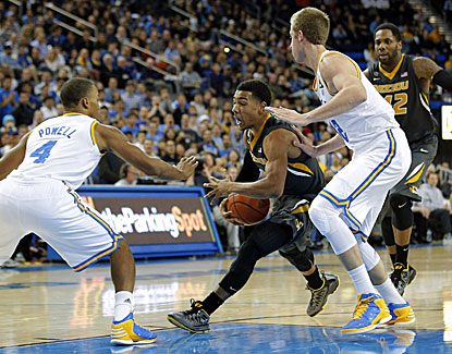 UCLA's win spoils a great night from Mizzou's Phil Pressey, who finishes with 19 points and 19 assists. (AP)