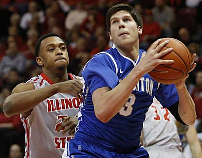 Creighton's Doug McDermott scores 15 points as the Bluejays knock off host Illinois State. (AP)